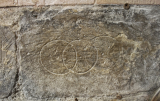 Dover Crusader Graffiti
